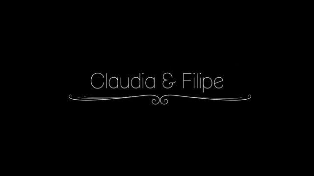 Claudia e Filipe
